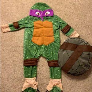 Ninja Turtles Donatello Costume 2-3t toddler